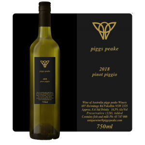 2018 Pinot Piggo