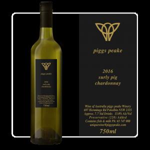 2016 Surly Pig Chardonnay