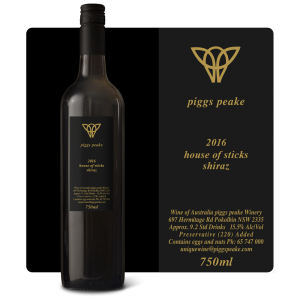 2016 House of Sticks Shiraz