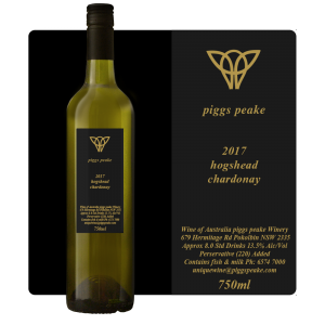 2017 Hogshead Chardonnay