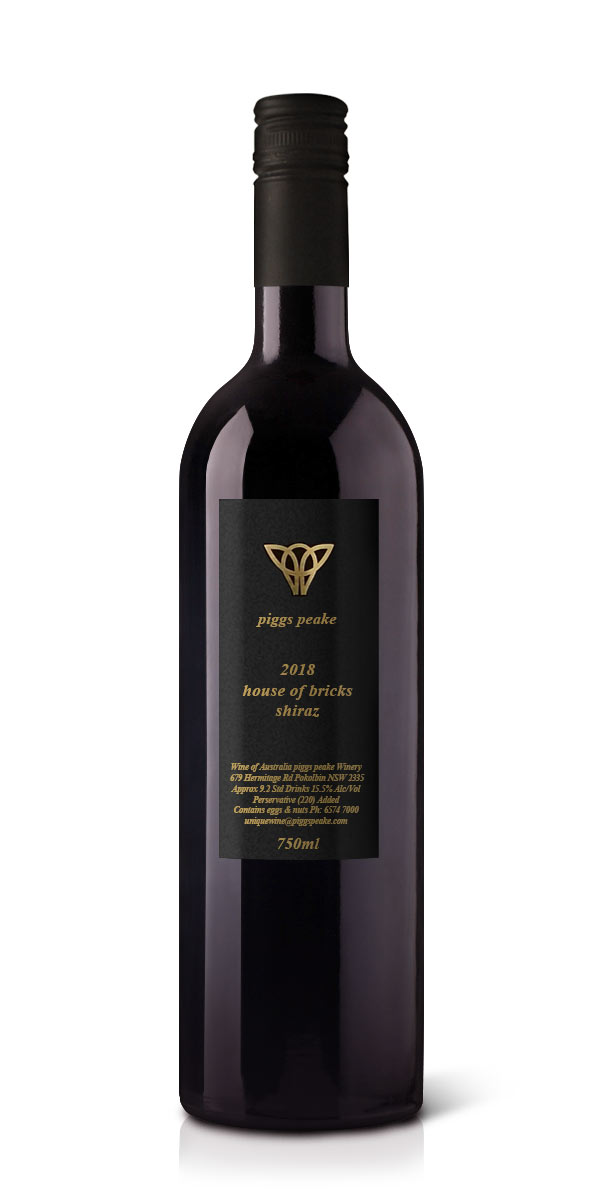 2018 house of bricks shiraz